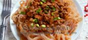 Спагетти ширатаки с соусом а-ля болоньезе (с Атаки)