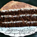 Шоколадно-бисквитный торт