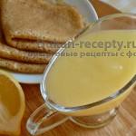 Десертный крем «Лимонный курд» по Дюкану
