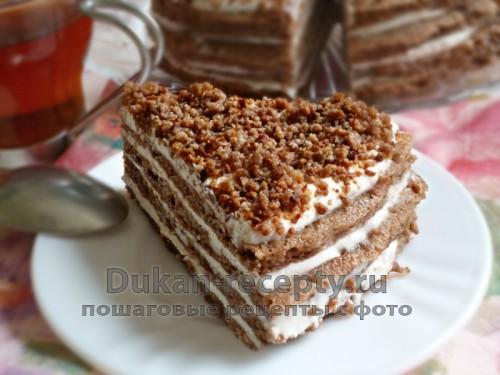 шоколадный торт по рецепту дюкана на атаке