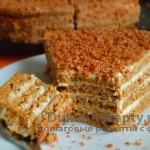 Торт «Медовик» по Дюкану