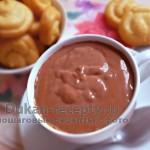 Шоколадный соус-пудинг