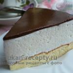 Торт «Птичье молоко» по Дюкану (с желатином)