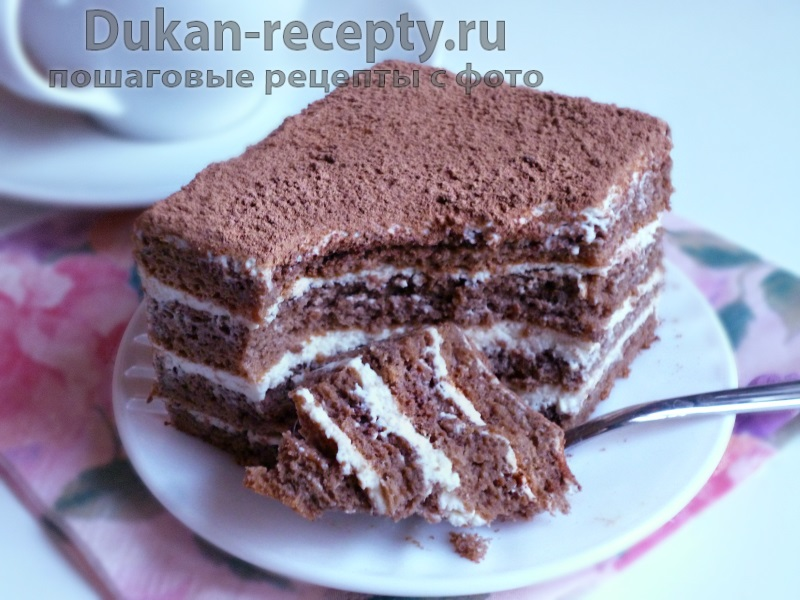 рецепты для диеты торт